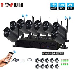 Wholesale wifi wireless security camera system - 8CH 1080P HD Wireless NVR Kit P2P 960P Indoor Outdoor IR Night Vision Security 1.3MP IP Camera WIFI CCTV System