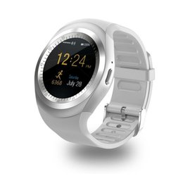 Tracker android en Ligne-V8 Smart Watch Fitness Tracker Sleep Tracker WhatsApp Facebook Télécommande Smartwatch Pour IOS Android PK GTO8 DZ09 Y1