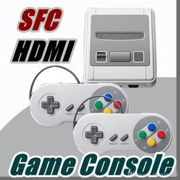 2019 jogo pmp 4gb Vendendo Super Mini Console de Jogos HDMI para SFC NES HD Super Mini SFC Game Player com Caixa De Varejo E-JY