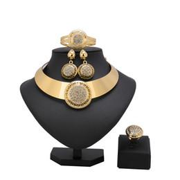 Ювелирные наборы для подружек невесты онлайн-2018 new Jewelry Sets Bridesmaid  Turkish Jewelry For Women Flower African Dubai Wedding  Set