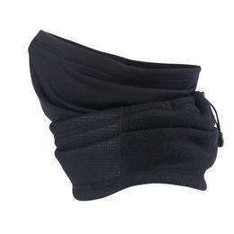 Wholesale Fleece Headband Black - Winter Wool Polar Fleece Thermal Neck Gaiter Tube Ear Warmer Half Face Mask Snowboard Workout Bicycle Head Scarf Headband Black