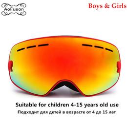 8636945478 Niños Ski Snowboard Goggles Tamaño pequeño para niños Doble UV400 HD  Máscara antiniebla Gafas Esquí Niñas Niños Snowboard Gafas chica de máscara  de esquí ...