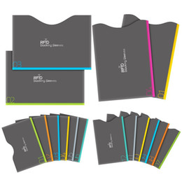 Wholesale Block Cards - RFID Blocking Sleeves, Set of 16 (12 Credit Card Holders & 4 Passport Protectors) for Identity Theft Protection, Perfectly Fits Wallet Purse