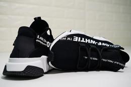 low priced f65ca 96248 Alta qualità economici originali 2018 donne uomini calzino scarpe da corsa  nero bianco rosso velocità allenatore sportivo sneakers stivali alti scarpe  ...