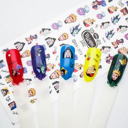 Harajuku nagel online-Wassertransfer Nails Aufkleber New Harajuku Nail Art Aufkleber Manicura Wasser Decals Nail Dekorationen 4SZJT024