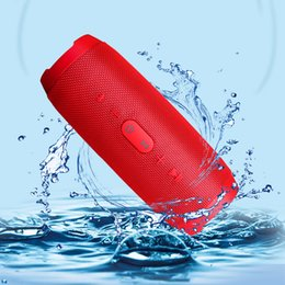Wholesale Portable Power Amplifier - Wireless Bluetooth Speakers Charge 3 Wireless Bluetooth HiFi Speaker Waterproof Portable Handfree Call Receiver Bass Speaker Support TF Card