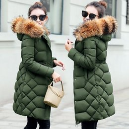 Real Fur Collar Parka Womens Winter Down Jacket 2018 Winter Jacket Women  Thick Snow Wear Coat Lady Clothing Female 4c3991893