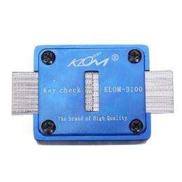 Wholesale locksmiths tools for sale - KLOM Key Profile Impressioner for Sale - Original KLOM Locksmith Tools