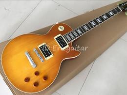 jaguar chitarra nuova Sconti Chitarra elettrica custom shop slash honeyburst, chitarra standard Slash, guitarra in mogano massiccio, spedizione gratuita