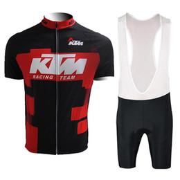 Maillot de cyclisme (bavette) 2017 de l'équipe KTM Tour vélo vélo ensemble vêtement vélo vêtements VTT extérieur maillot ciclismo ? partir de fabricateur