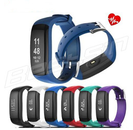Wholesale bluetooth vibrate - P6 0.86 inch OLED Smart Band Vibrating Alarm Bracelet Calorie Counting Wristband Bluetooth Fitness Tracker smart Sleep monitor