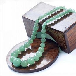 Canada Nouveau 2018 naturel Dongling jade collier de perles de mode pour les femmes Vintage DIY bijoux de jade ornements de collier vert Offre