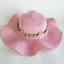 2018 Diseño de Moda Verano Más Tamaño Sombrero de Sol para Mujeres Color  Sólido Primavera Casual Vintage Ladies Girl Gran Playa Sombrero de Paja C20 261e2252af5