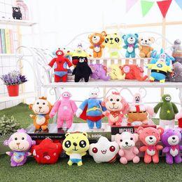 Wholesale Kids Days - Cartoon Plush Toys Smeshariki Stuffed Animals Hedgehog Kikoriki Nyushenka Pandochka Plush Stuffed Plus Animals Kids Gift OOA4990