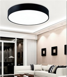 Wholesale Learn Lamp - Creative Round led ceiling lamp living room bedroom learning kitchen home lighting & commercial lighting Ceiling lights