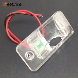 Lizenzhalterung online-EEMRKE Kfz-Halterung für hintere Kamerahalterung Kennzeichenbeleuchtung für Audi A4 A4L 8H 8E A8 (4H) Q7 4L