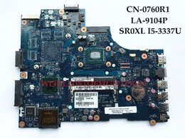 Wholesale I5 S - High quality Laptop Motherboard for Dell Inspiron 3521 5521 VAW00 LA-9104P CN-0760R1 SR0XL I5-3337U DDR3L 100% Fully Tested