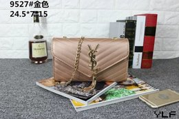 Wholesale Wild Totes - Class Ladies Handbags Totes Bag Fashion Women Geometric Handbag Wholesale Two-tone Version Wild Girl Shoulder Bags Messenger Bag Female _B94