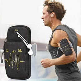 "cases for coolpad Promo Codes - Gym Sports Armband For Coolpad Rogue 4"" Running Carrying Arm Bag Cell Phone Holder Cover Case For Coolpad Rogue Phone On the Arm"