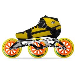 rad inline Rabatt 100% Original Bont Pursuit 2PT 195 MM 2 PF CXXV Geschwindigkeit Inline Skates Heatmoldable Kohlefaser Boot Rahmen 3 * 125mm Räder Patines
