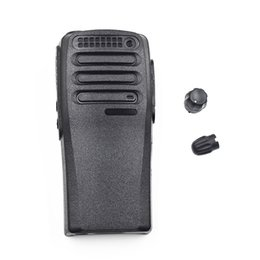 Casos de walkie talkie on-line-Reposicionamento Reparação Habitação Case para Motorola Walkie Talkie DP1400 DEP450 XiR P3688 Transceptor de Rádio CB