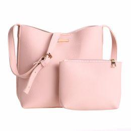 Wholesale Body Sets Brands - Brand 2 sets Handbag Women Composite Bag Female Large Capacity Tote Bag Fashion Shoulder Crossbody Small Purse