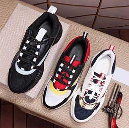2018 New D Scarpe da ginnastica in pelle di vitello e pelle di vitello Moda Novità Sneakers Scarpe da ginnastica tecnica B22 Trainer supplier d rose shoes for da d scarpe rosa per fornitori