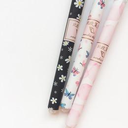 48 penne gel online-48 pz / lotto Daisy Butterfly Sakura penna gel penna firma Escolar papelaria scuola forniture per ufficio regalo promozionale