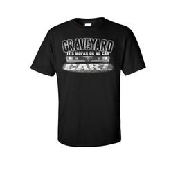 grilles de phare Promotion T-shirt Graveyard Carz Mopar ou pas de voiture Phares noirs Grill Voitures