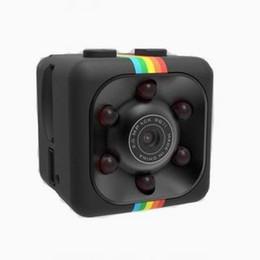 Lentes de cámara de video digital online-Venta caliente Mini HD-Mega Lente SQ11 DV HD 1080P Mini cámara DVR Digital Detección de movimiento por infrarrojos Puerta de la puerta Sport Video Grabador de voz