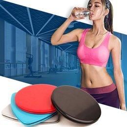 dischi di plastica rotonda Sconti Plastica ABS Disco scorrevole Triangolo Forma rotonda Pad scorrevole Formazione Coordinamento del corpo Abilità Stuoie di yoga Vendita calda 4 9gr B