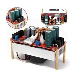 Intensificar el convertidor de impulso 12v online-1500W 30A CC CV Boost Converter DC-DC Step Up Fuente de alimentación Módulo ajustable DC 10V-60V a 12V-90V Kit de bricolaje Módulos de unidades eléctricas