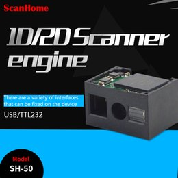 2019 oem ccd ScanHome2D código de varredura motor cabeça de varredura módulo de varredura embutida micro 2D varredura arma embutida SH-50