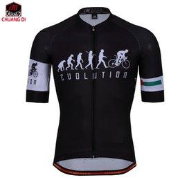 Maillot cyclisme manches courtes en Ligne-Maillots de cyclisme respirant vente chaude 2018 pour hommes chauds de conception d'été maillots de cyclisme à séchage rapide cyclisme vêtements