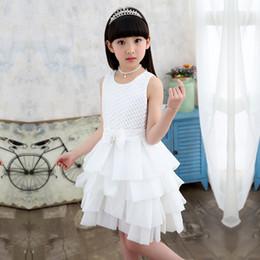 юбки для девочек Скидка Девушки принцесса юбка дети латинский танец 2018 в корейской версии исполнения больших девочек платье юбка