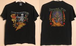 NUEVA RARA !! Grateful Dead Follow The Golden Road 1994 Fall Tour EE. UU. TAMAÑO S ~ 3XL tejido cómodo de estilo callejero camiseta para hombre desde fabricantes