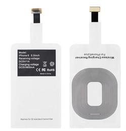 Argentina Universal Qi Cargador inalámbrico Adaptador de remiendo de carga Pad para Samsung GALAXY S6 S7 Edge Plus s8 note8 Google Nexus 6 7 LG teléfono inteligente Suministro