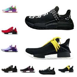 WholeSale Human Race Spedizione gratuita Black nerd Uomini Scarpe da corsa  Donne nobile nucleo d inchiostro Nero Bianco Rosso Athletic Sport Sneaker  Shoes 090e76dcdb0