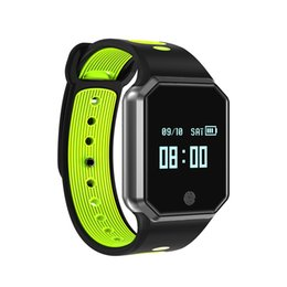 Wholesale wristband red for men - single-piece QW11 Smart Wristband Heart Rate Monitor Waterproof Fitness Tracker Bluetooth For Android IOS IP67 women men gps