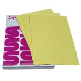 100 Feuilles Papier de Transfert De Tatouage A4 Taille Esprit Master Papier Tatoo Thermique Pochoir Carbone Copieur Papier Pour Approvisionnement De Tatouage ? partir de fabricateur