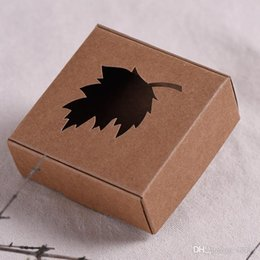 paper aircrafts Promo Codes - Foldable Handmade Soap Box Brown Black Kraft Paper Aircraft Boxes Hollowed Out Design Soaps Packaging Wraps Vintage Style 0 37jc5 ZZ