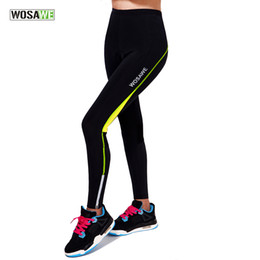 2019 брюки для открытой езды WOSAWE Women's Cycling Pants Gel Pad Quick Dry Bike Tights Trousers Breathable Riding Outdoor Sport Cycle Pant скидка брюки для открытой езды