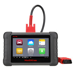Wholesale android system update - Autel MaxiDAS DS808 Automotive Diagnostic Scanner and Analysis Systems Scan Tool Supports Android System Update Online Standard Set