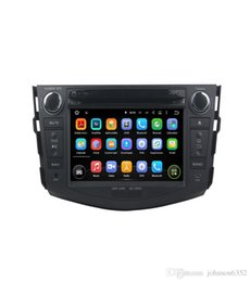 Wholesale touch screen stereo for rav4 - Hot sale Android 7.1.1 2 Two Din 7 Inch Car DVD Player For TOYOTA RAV4 RAV 4 2006-2011 RAM 1G 2G Quad Core WIFI GPS Navigation Radio USB