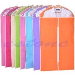 Wholesale Wire Skirt - Clothes Dress Garment Cover Bag Dustproof Coat Skirt Storage Protector 3 Sizes S M L-S127