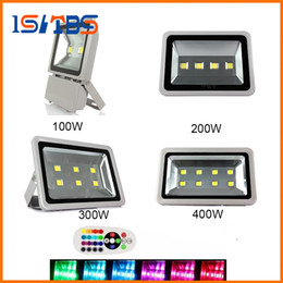 Wholesale Rgb Ip67 - Led Floodlights IP67 100W 200W 300W 400W High Power Outdoor flood light Led Gas Station Lighting Waterproof Led Canopy Lights AC 85-265V