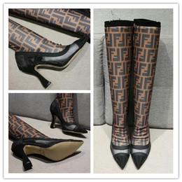 porter des hauts de la cuisse Promotion Les femmes au-dessus du genou bottes cuisse haute bottes en daim automne hiver femmes usure fourrure chaude talons noirs bottes chaussures d'hiver femme