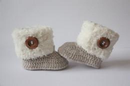 Rabatt Weiße Häkelschuhe 2019 Häkeln Baby Booties Schuhe Weiß Im