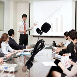2019 konferenzen mikrofon Mini Tragbare Clip-on Revers freisprecheinrichtung 3,5mm Jack Kondensatormikrofon Mic für Computer PC Laptop Lautsprecher Konferenz Mic günstig konferenzen mikrofon