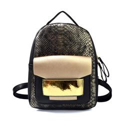 e792628571c8 Змея искусственная кожа женщины рюкзак женская мода рюкзак бренд дизайнер  дамы сумка высокого качества Змеиный мешок школы змеиный рюкзак сделка